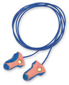 Laser Trak Metal Detectable Ear Plugs With Cords # 250240 pic 1