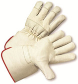Top Grain Cowhide w/ Gauntlet Cuff Gloves Pic 1
