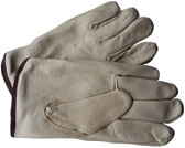 Premium Pigskin Driver Leather Gloves w/ Fleece Lining Pic 1