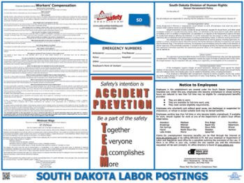 South Dakota State Labor Law Posters