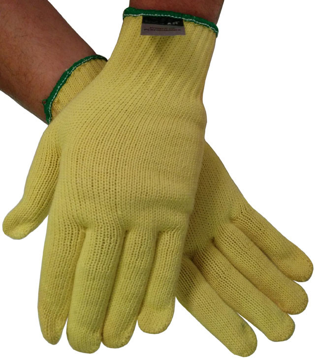 Heavyweight Kevlar Gloves with Knit Wrist (Sold by Dozen) All Sizes