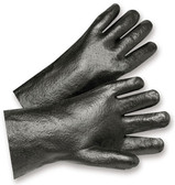 PVC Gloves 12 inch w/ Rough Finish Pic 1