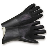 PVC Gloves 12 inch w/ Sandpaper Finish Pic 1