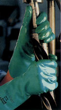 Edmont Sol-Vex Nitrile Glove (15 Mil, Unlined) Pic 1