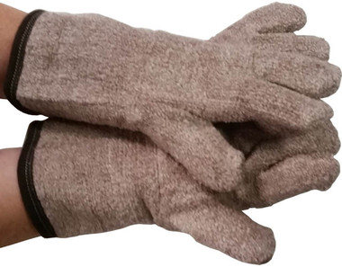 MCR Extra Heavy Weight Heat Brown Gloves Pic 1