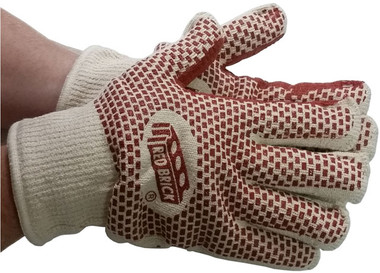 MCR Red Brick Hot Mill Gloves Pic 1