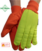Rig Impactor Impact Resistant FR Oil Field Gloves Pic 1