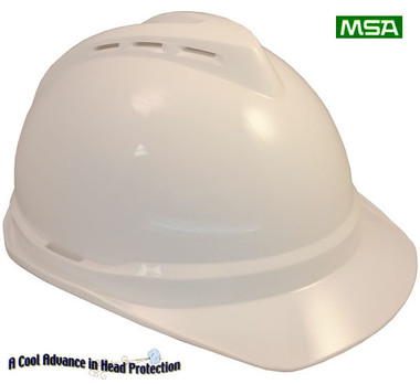 MSA Advance ~ White ~ Right Side View