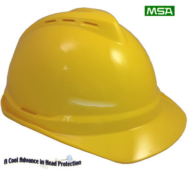MSA Advance ~ Yellow ~Right Side View