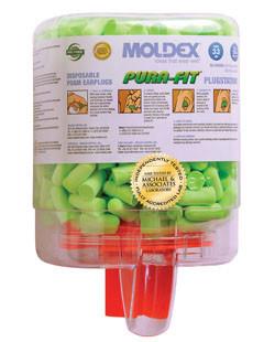 Moldex Pura Fit Ear Plugs Plug Stations (250 Ear Plugs) # 6844 pic 1