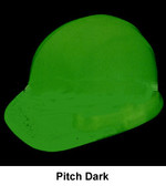 Glo-Mega Omega II Cap Style Safety Helmet ~ Pitch Dark