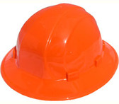 ERB Omega II Full Brim Hard Hats w/ Pin-Lock Orange pic 1