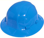 ERB Omega II Full Brim Hard Hats w/ Pin-Lock Blue pic 1
