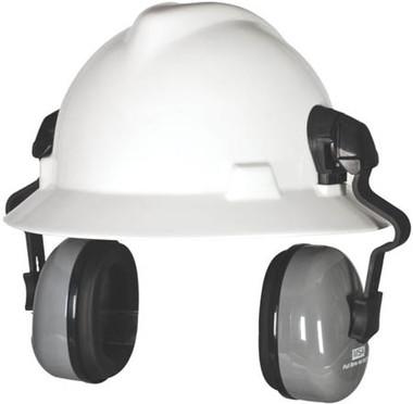 MSA Full Brim Hard Hat Ear Muff Attachments # 10129327 pic 1
