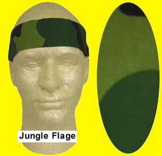 Miracool Jungle Flage Cooling Bandanas pic 1