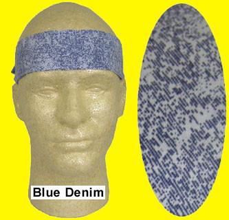 Miracool Blue Denim Cooling Bandanas pic 1