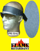 Miracool Flame Retardant FR Grey Color Bandanas pic 1