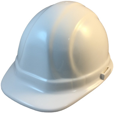 ERB Omega II Cap Style Hard Hats w/ Pin-Lock White Color pic 1
