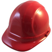 ERB-Omega II Cap Style Hard Hats w/ Ratchet Red Color pic 1