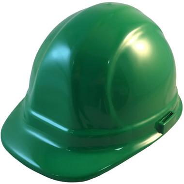 ERB-Omega II Cap Style Hard Hats w/ Ratchet Green Color pic 1