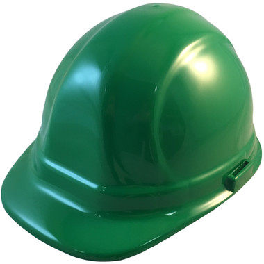 ERB-Omega II Cap Style Hard Hats w/ Ratchet Green Color pic 1