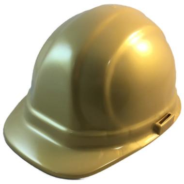 ERB-Omega II Cap Style Hard Hats w/ Ratchet Gold Color pic 1