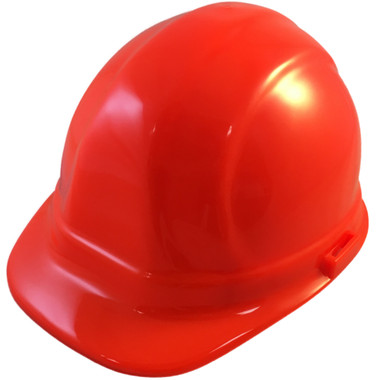ERB-Omega II Cap Style Hard Hats w/ Ratchet Hi Viz Orange pic 1