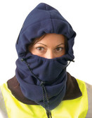 Occunomix 3 in 1 Fleece Balaclava Liner Navy Blue Color pic 1