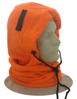 Occunomix 3 in 1 Fleece Balaclava Liner Hi Viz Orange Color pic 1