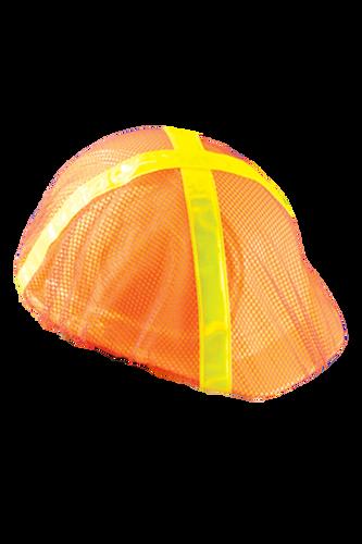 Orange Cap Hard Hat Mesh Hi Viz Covers pic 2