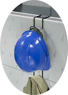 """Cubicle Hook"" Hard Hat, Coat, Purse Racks pic 1"