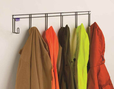 Has 6 Hooks for lots of coats