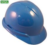 MSA Vangard II Helmet ~ Blue ~ View 01
