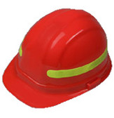 Lime 360 Degree Wrap Around Sticker for Hard Hats Pic 1