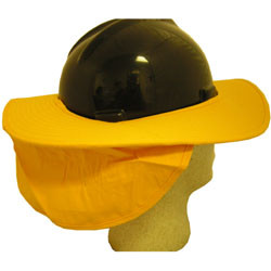 Occunomix Yellow Hard Hat Shades pic 1