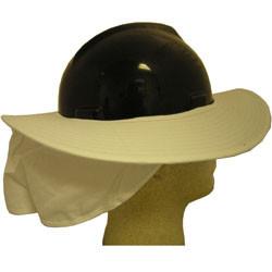 Occunomix White Hard Hat Shade pic 1