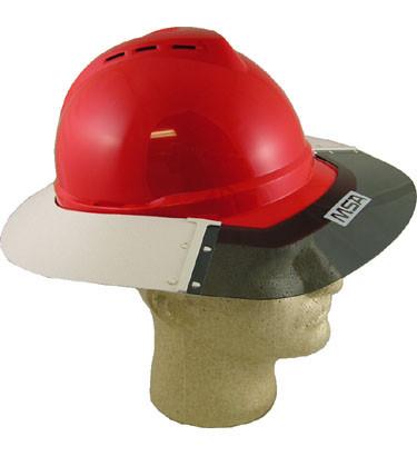 MSA Advance Hard Hat Sun Shields pic 1