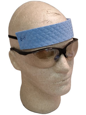 Premium Cellulose Head Cooling Sweatband
