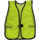 Lime Soft Mesh Plain Safety Vest