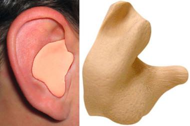 Radians Custom Molded Ear Plugs Tan Color # CEP001-T pic 1