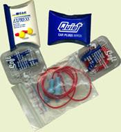 Reusable Ear Plug Samples (10 pieces) # rp00-reusable pic 1