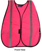Pink ERB Safety Vests with Silver Stripes pic 2