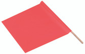 Hand Held 18 inch Safety Flags Pic 1