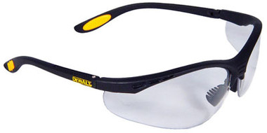DeWALT Reinforcer Safety Glasses ~ Clear Lens