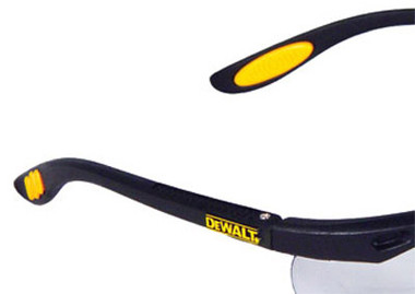 DeWALT Reinforcer Safety Glasses ~ Detail