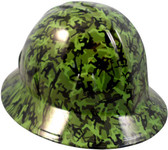 Army Men Green Hydro Dipped Hard Hats Full Brim Style