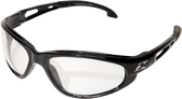 Wolverine (Dakura) Safety Glasses ~ Black Frame with Clear Lens