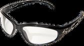 Wolverine (Dakura) Safety Glasses ~ Black Frame with Clear Lens