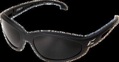 McKinley Safety Glasses ~ Black Frame ~ Polar Smoke Lens