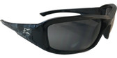 Edge Brazeau Safety Glasses ~ Skull Frame, Smoke Lens